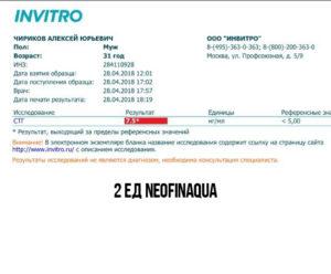 NeofinAqua гормон роста